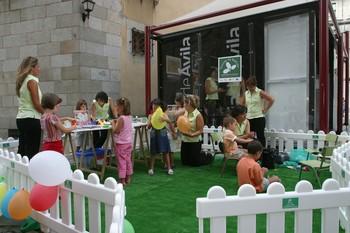 Centro infantil en Ávila.