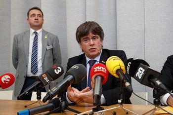 La Justicia belga deja a Puigdemont en libertad sin fianza