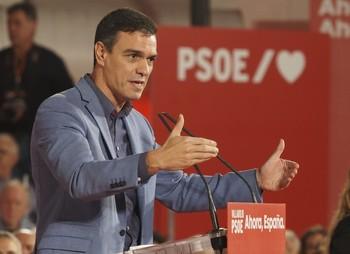 Sánchez promete formar gobierno en 48 horas si gana el 10-N