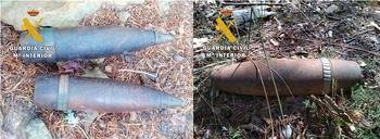 Destruyen en La Demanda tres proyectiles de artillería
