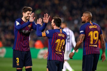 El Barça se reencuentra con la victoria en Liga