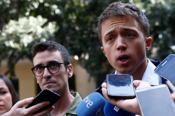 Errejón busca en Barcelona el apoyo de votantes de PSC