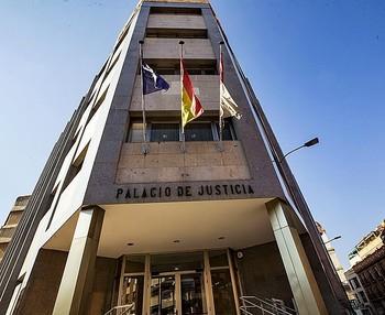 Imagen de la Audiencia Provincial donde estaba señalado el juicio