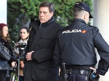 El juez expulsa a Juan Carlos Quer por gritar al 'Chicle'