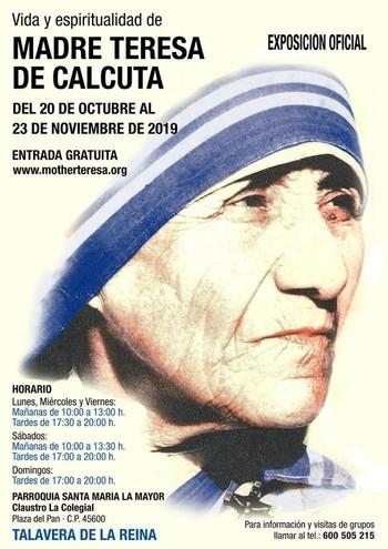 La Colegial acoge una exposición sobre Teresa de Calcuta