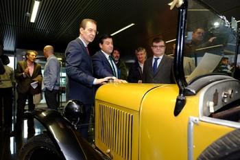 Inauguración del VIII Foro-Exposición de Vehículos Históricos.