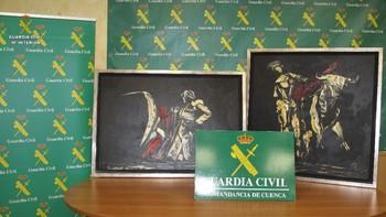 Recuperan dos cuadros sustraídos del pintor Remy J. López