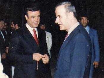 Rifaat y Hafez al Assad