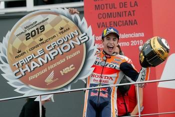 Márquez, intratable en la despedida de Lorenzo