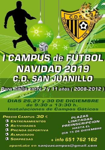 Primer campus de Navidad del San Juanillo