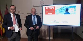 La Diputación lleva el Castillo de Fuensaldaña a Fitur