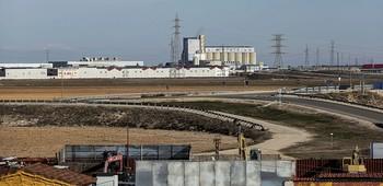 Vista general de parte del polígono industrial de Romica, en el término municipal de Albacete capital.