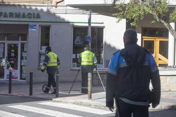 La Guardia Civil reconstruye el atropello mortal