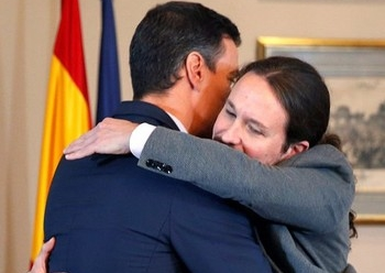 El empresariado recela de la llegada de Unidas Podemos