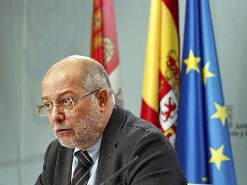 El vicepresidente y portavoz de la Junta, Francisco Igea, durante la rueda de prensa posterior al Consejo de Gobierno