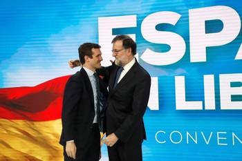 Rajoy pide al PP que huya del sectarismo