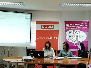 CCOO pide que se cumpla la ley de prevención ' en femenino'