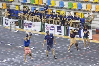 Imagen de una competición de cross fit en el Quijote Arena.