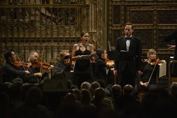 La soprano María Espada y el contratenor Christopher Lowry fueron muy aplaudidos por su interpretación.