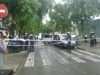 Un coche que huía de la Policía atropella y mata a un hombre