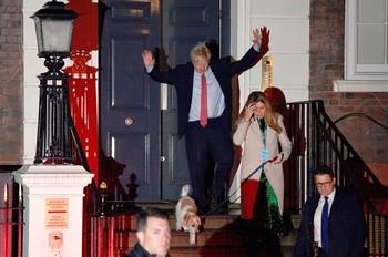Boris Jonhson consigue la mayoría absoluta