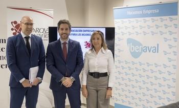 El viceconsejero de Economía y Competitividad, Carlos Martín Tobalina, participa en la jornada 'La Financiación empresarial, catapulta para los mejores proyectos', organizada por Iberaval en el Parque Científico de la Universidad de Salamanca.