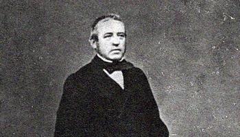 Gaspar Díaz de Labandero y Cuadrillero (1804-1882), en una fotografía conservada en el Archivo Municipal.