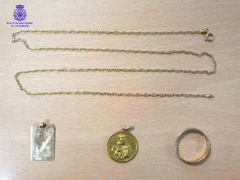 Detenida una gerocultora por robar joyas en una residencia