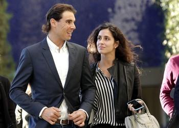 Rafa Nadal y Mery Perelló, en una foto de archivo