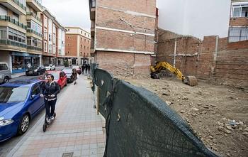 Protegidos los restos romanos, se reanudan las obras