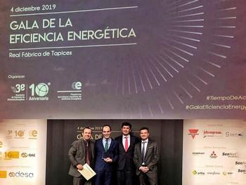 El EREN gana el premio extraordinario A3e por el DataHub Energético de la Junta de Castilla y León, que ha permitido el ahorro de más 12 millones de euros en electricidad desde 2015.