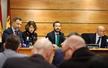 El consejero de Desarrollo Sostenible, José Luis Escudero, informó del presupuesto de su departamento para 2020.