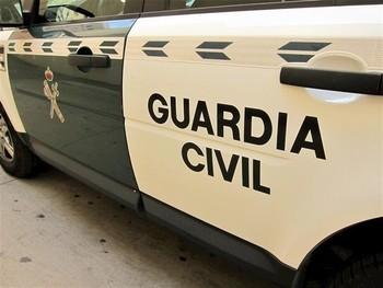 Detenido por agredir a un guardia civil con un arma blanca