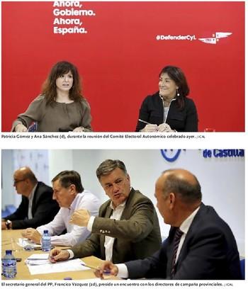 PSOE y PP ponen la vista en los votos de Cs de cara al 10-N