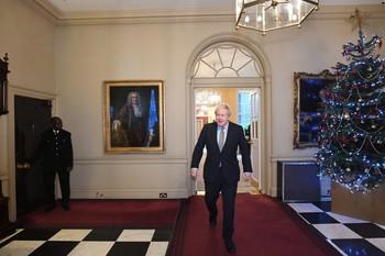 Boris Johnson es investido de nuevo primer ministro
