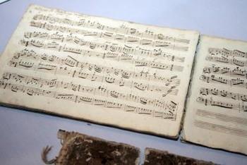 Una partitura original de Mozart vendida por 372.500 euros