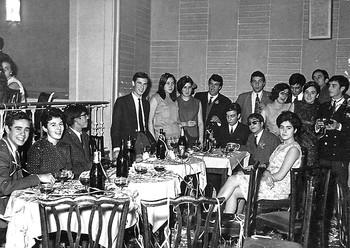 Fiesta de la deportiva en Las Sirenas el 29 de diciembre de 1966