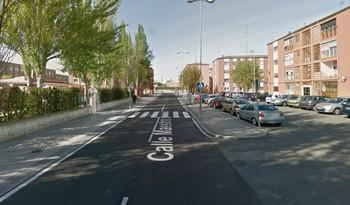 Imagen de la calle de Salamanca donde ocurrió el apuñalamiento.