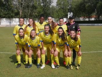Un once inicial del FF La Solana en un partido de esta temporada.