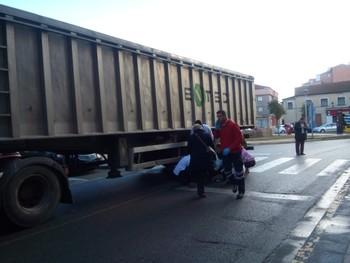 Muere atropellada una mujer en un paso de cebra en Burgos.
