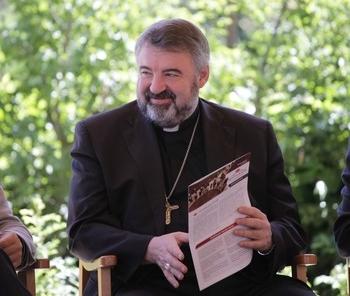 El obispo de la Diócesis riojana, Carlos Escribano.