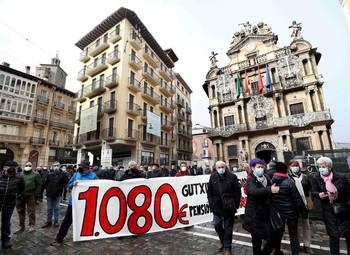 Pensionistas vuelven a salir a la calle para pedir