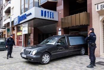 Hallan muerta una niña de cinco años en un hotel de Logroño
