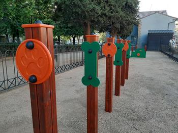 Segovia estrena su primer parque canino