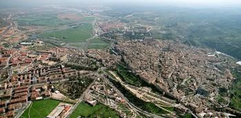 Vista panorámica de la ciudad de Toledo.