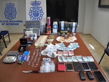 Desmantelado un punto de venta de drogas en Valdepeñas