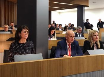 Juan Rodríguez asiste al foro Invierte en Cuenca