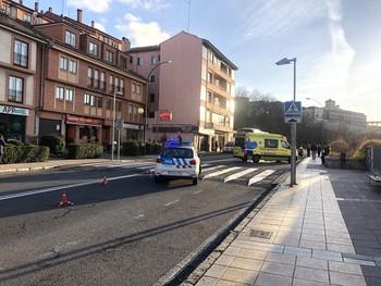 Dos personas heridas en un atropello en San Lorenzo