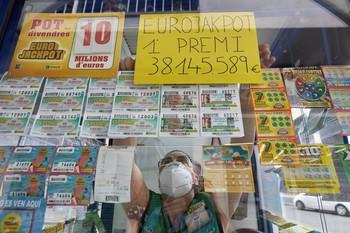 Un vecino de Gerona gana 38 millones en el Eurojackpot