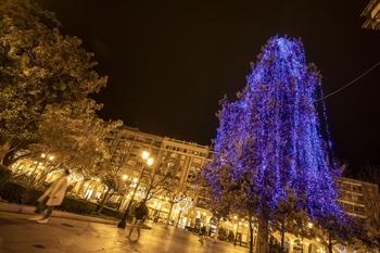 Logroño saca a contratación las luces navideñas por 4 años